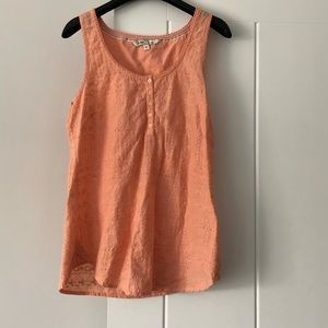Fat Face Sleeveless Embroidered Blouse